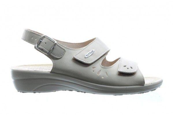 Beige Sandalen Met Velcro