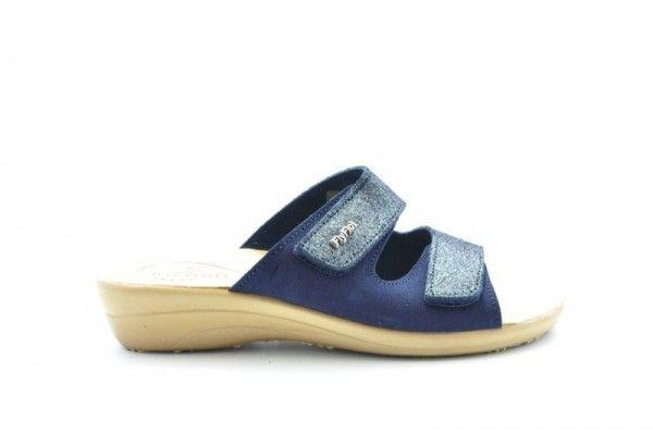 Fly Flot Blauw Slipper
