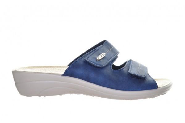 Fly Flot Blauw Slippers