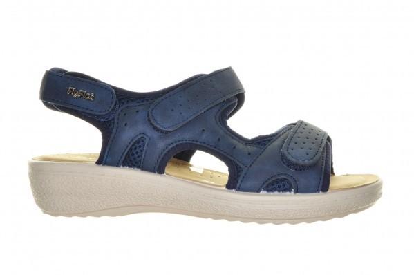 Fly Flot Blauwe  Comfort Sandaal