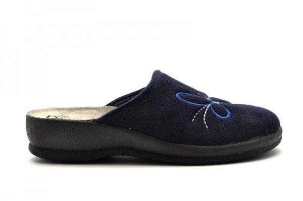 Fly Flot Dames Pantoffel Blauw