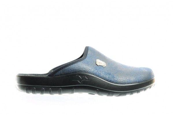 Fly Flot Pantoffels Blauw Modern