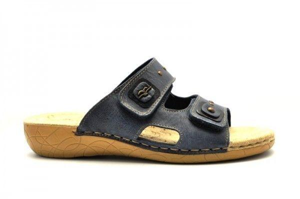 Fly Flot Slippers Velcro Blauw
