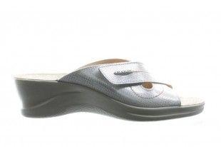 Wtte Slipper Met Velcro