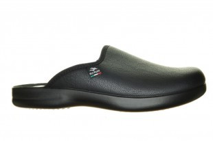 Zwarte Pantoffels Instapper