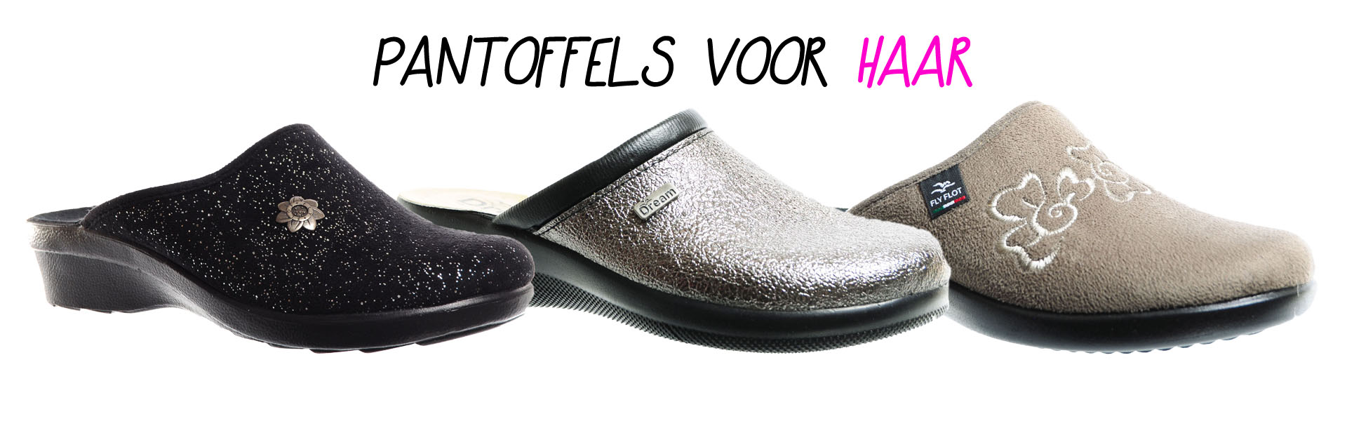Fly Flot Pantoffels voor Dames