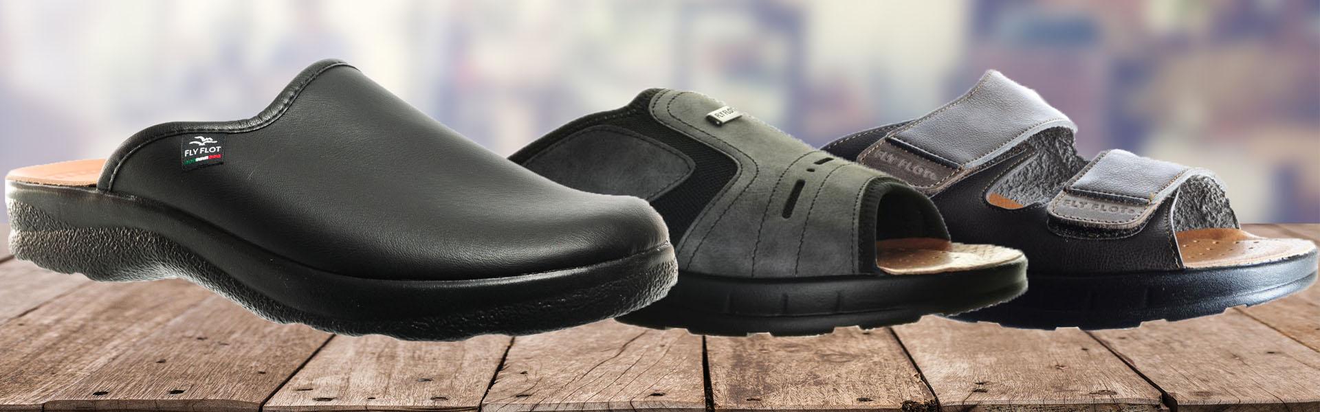 Fly Flot Slippers of Instappers voor Heren